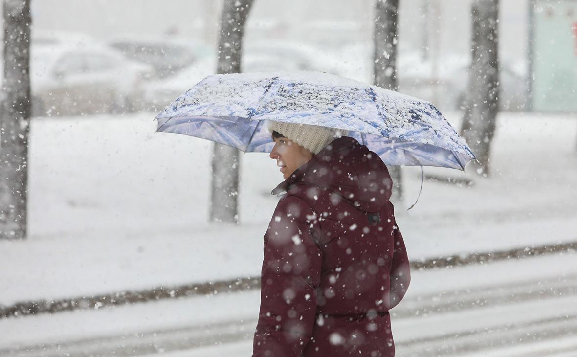 Воробьев предупредил жителей Подмосковья о ледяном дожде и мокром снеге