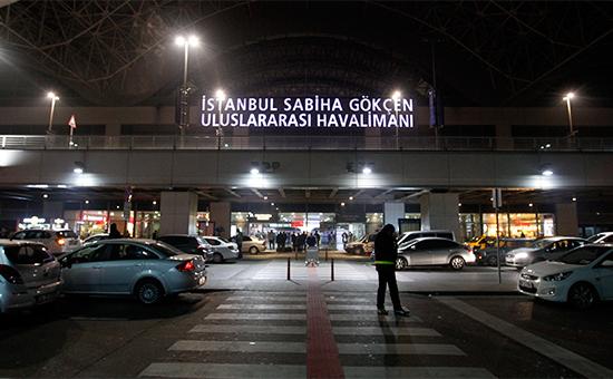 Аэропорт Сабихи Гекчен. Февраль 2014 года