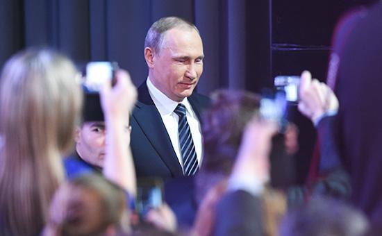 Президент РоссииВладимир Путин