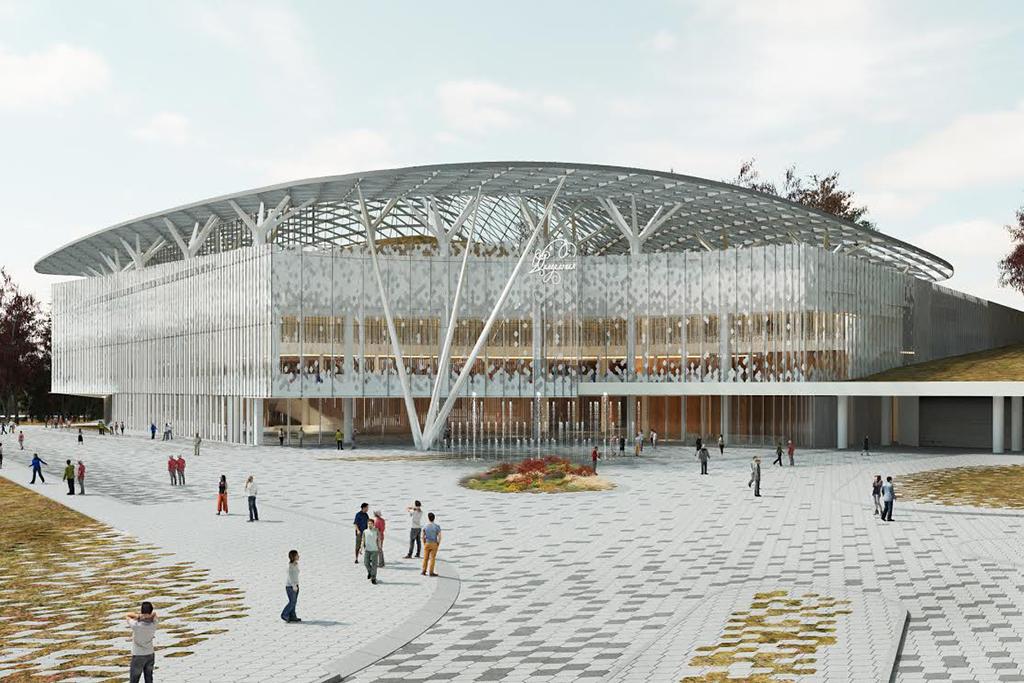 Здание будет расположено вюго-восточной части парка, состороны Китайгородского проезда