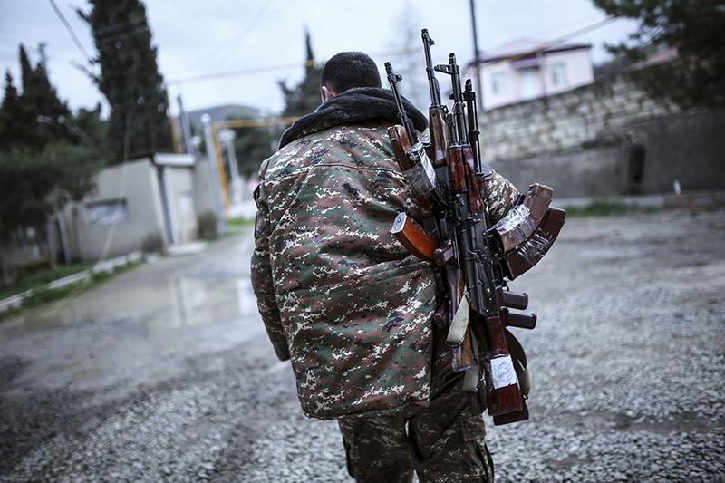 Военнослужащие армии самопровозглашенной Республики Нагорный Карабах