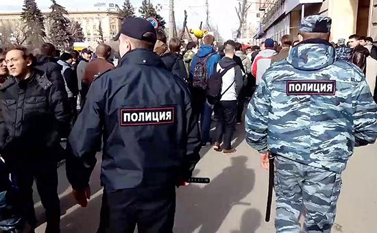 Антикоррупционная акция в Волгограде.26 марта 2017 года