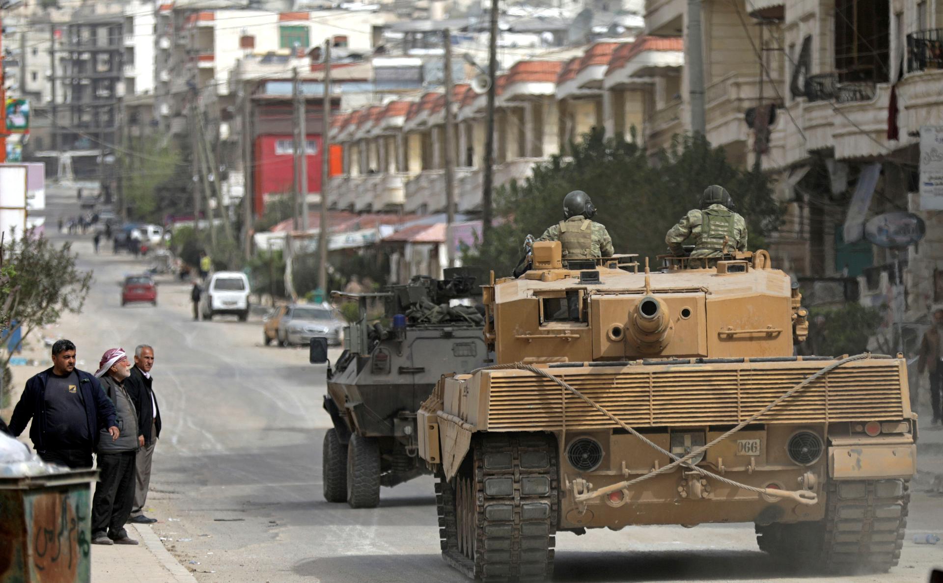 Турецкие военные в сирийском Африне. Март, 2018