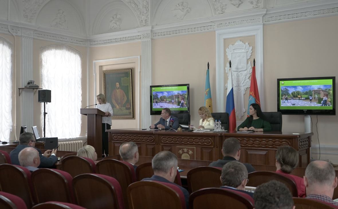 Фото: пресс-служба мэрии Тамбова