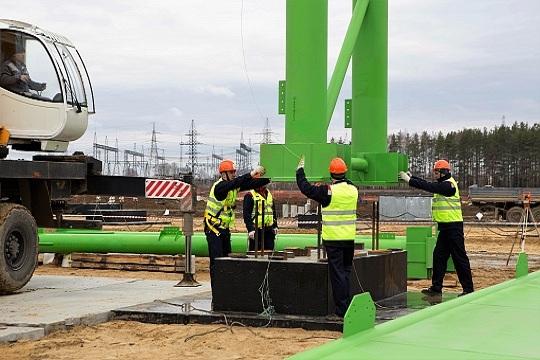 Начало строительства цеха бесшовных труб на ВМЗ