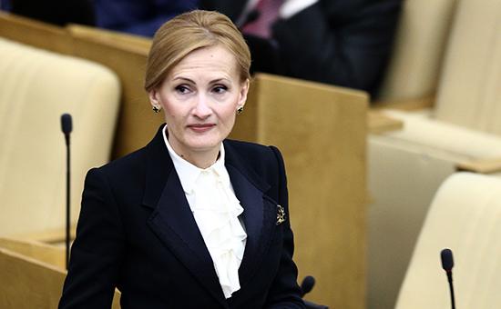 Председатель комитета по безопасности Ирина Яровая