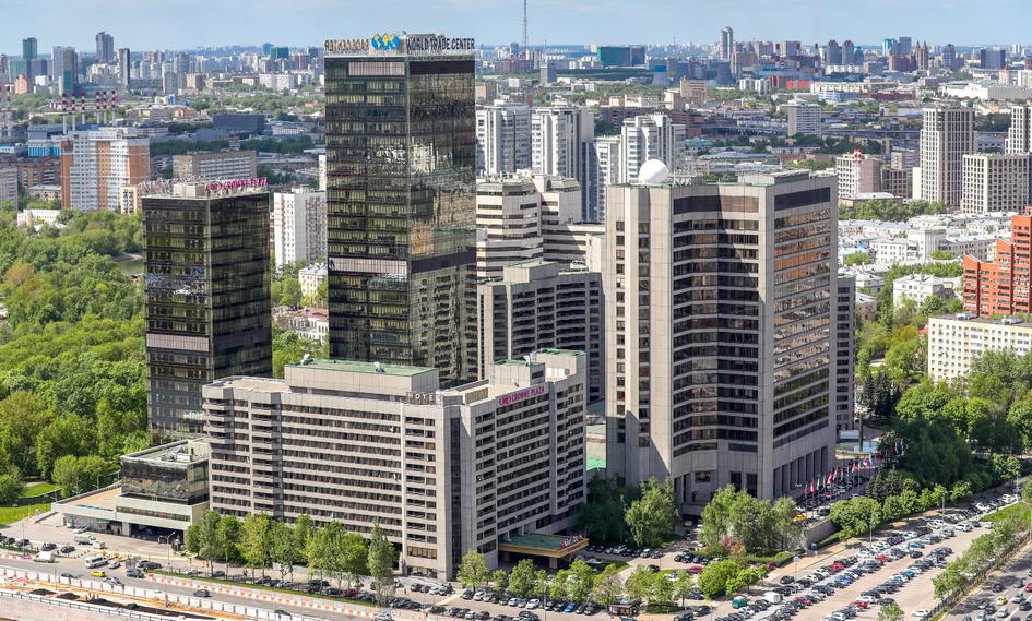 Здания Центра международной торговли в Москве