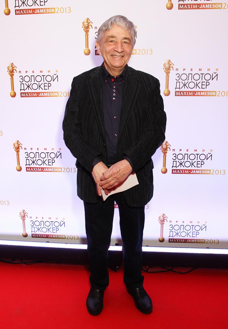 Эдуард Успенский на церемонии вручения премии «Золотой Джокер MAXIM Jameson 2013» в театре Et Cetera в Москве 21 марта 2013 года