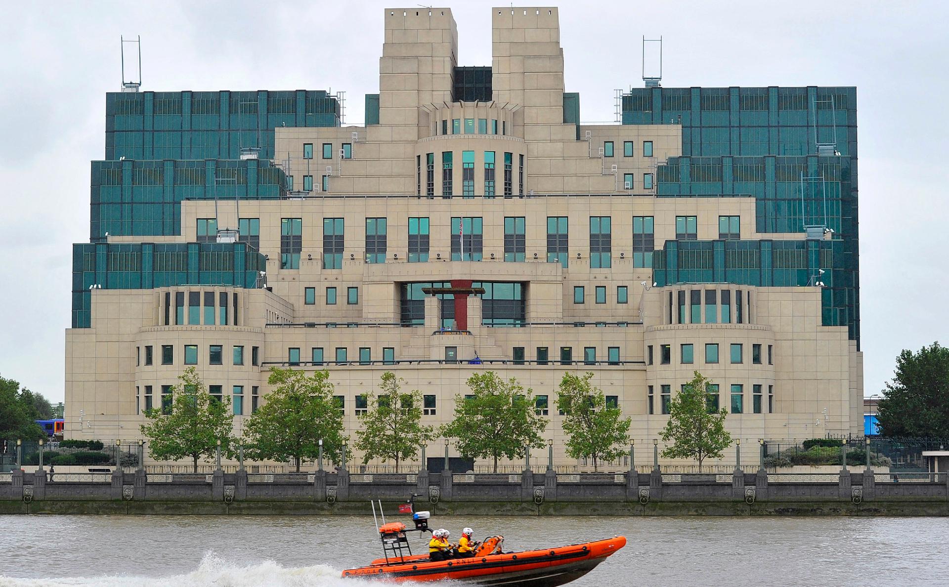 Штаб-квартира MI6 в Лондоне
