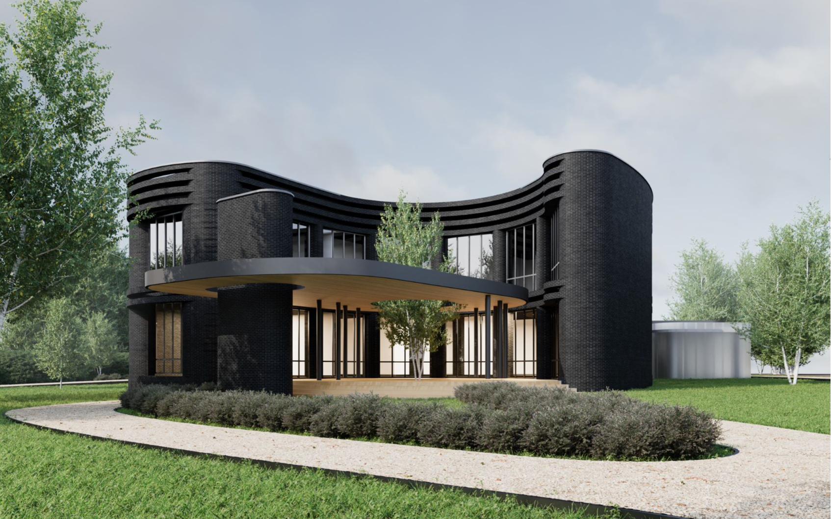Вариант резиденции в коттеджном поселке «Березки River Village». Визуализация ГК «Галс-Девелопмент»