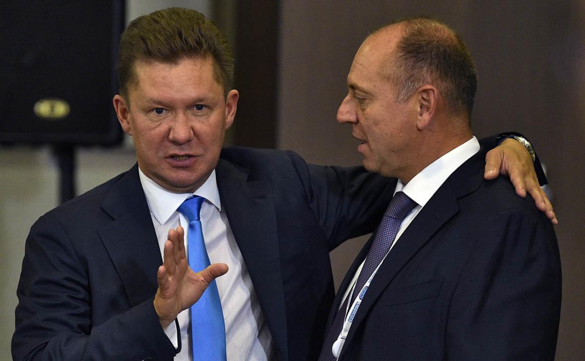 Алексей Миллер и Дмитрий Пумпянский