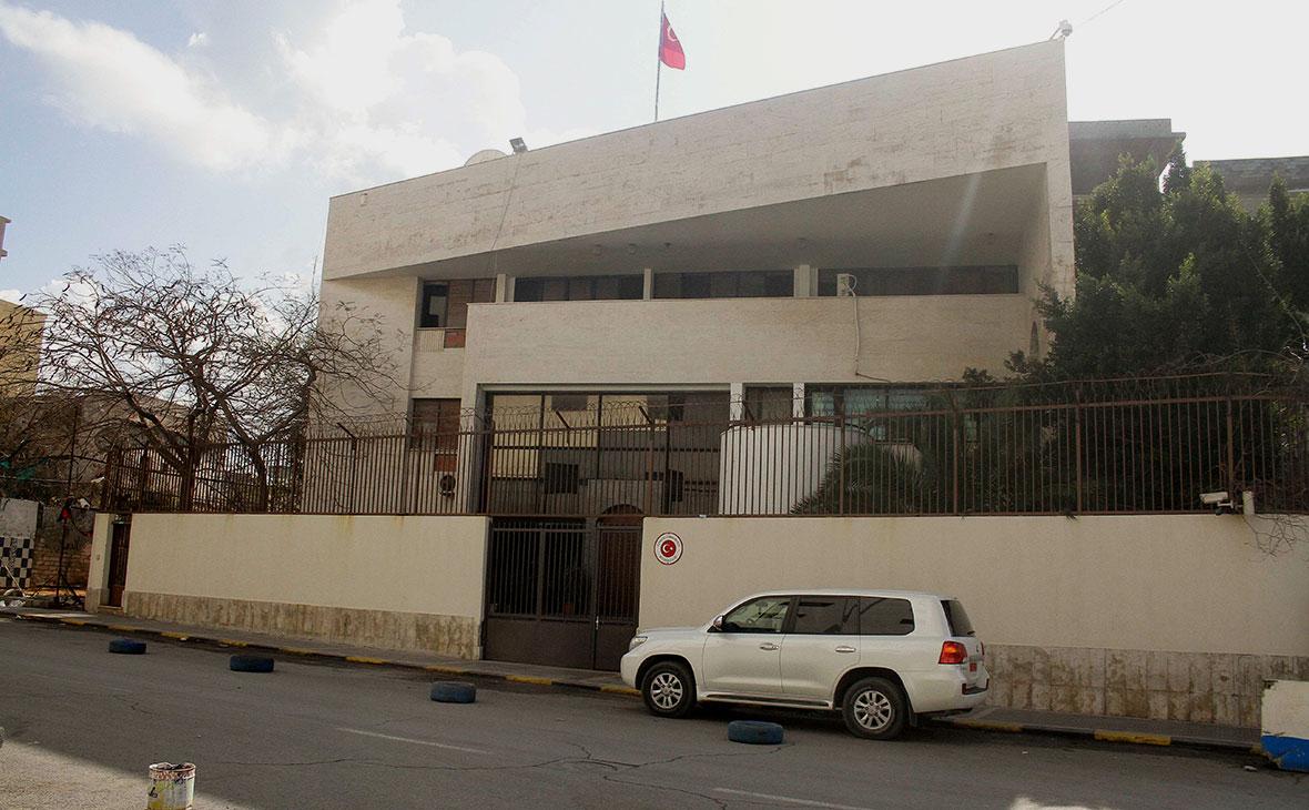 Турецкое посольство в Триполи, Ливия
