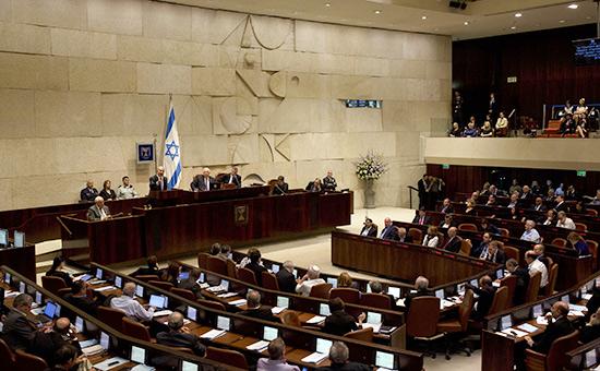 ЗаседаниепарламентаИзраиля