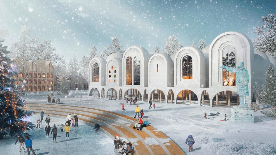 Из портфолио архитектурного бюро Megabudka: проект Нового русского города