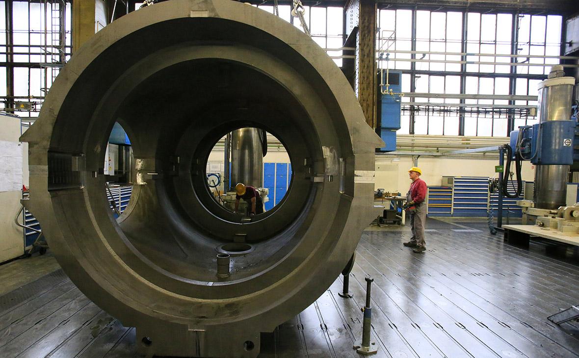 Производство газовых турбинSiemens