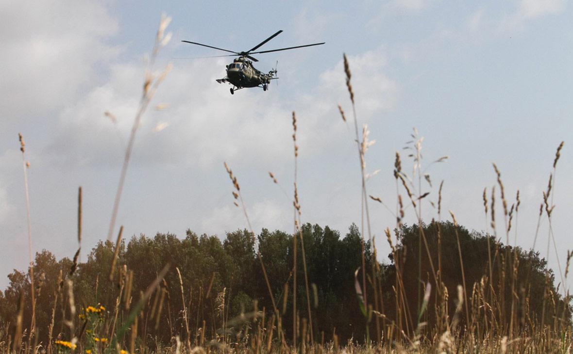 Вертолет Ми-8. Август 2015 года