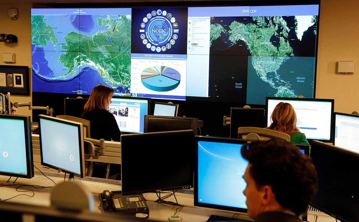 Сотрудники Национального управления кибербезопасности в США