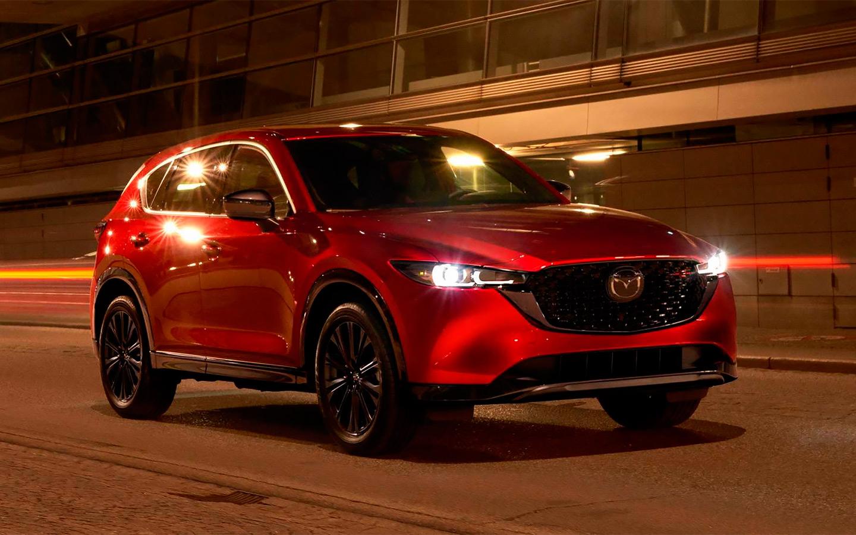Mazda unveils updated crossover CX-5 :: Autonews