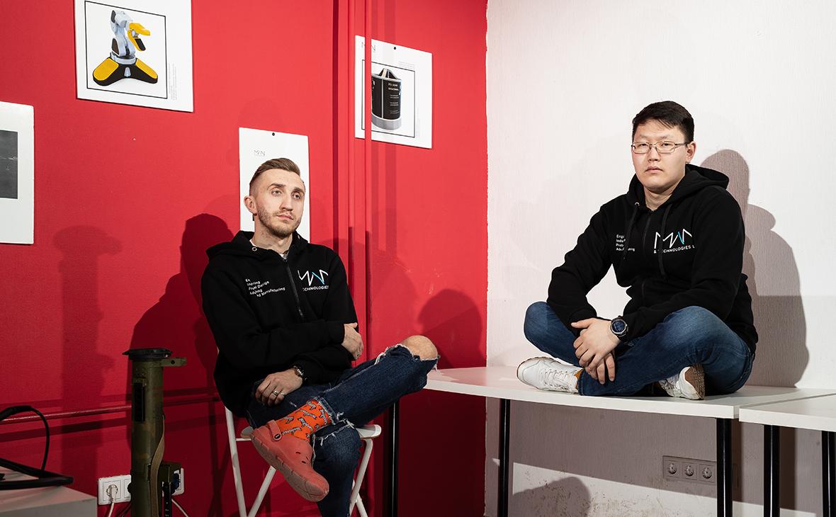 Михаил Крапивной и Николай Апросимов