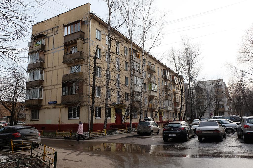 Жилой пятиэтажный дом врайоне Коптево
