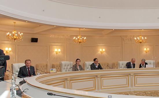 Заседание Контактной группы поурегулированию ситуации навостоке Украины вМинске, 5 сентября 2014 года