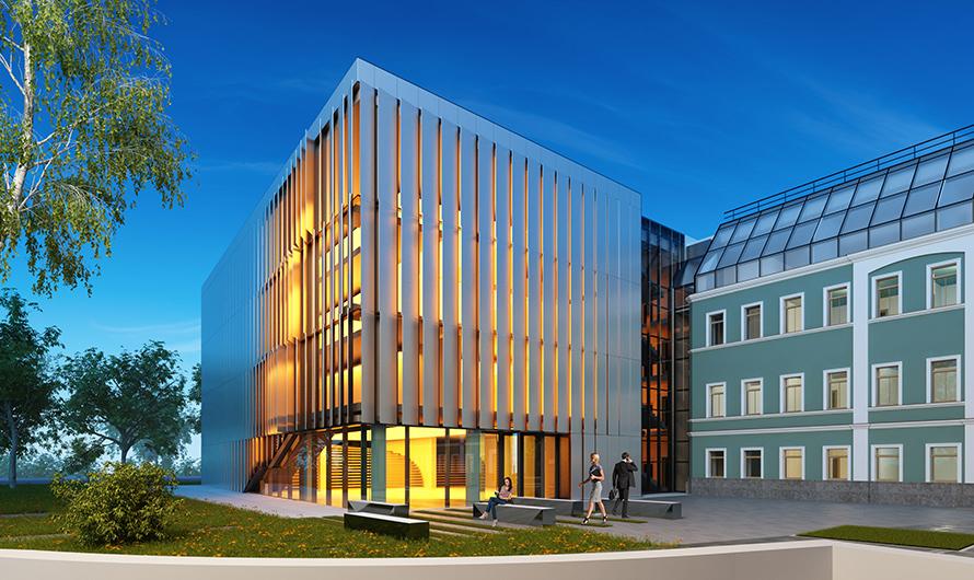 Фасадные панели смогут менять цвет...