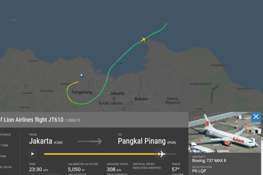 Скриншот сайта Flightradar 24