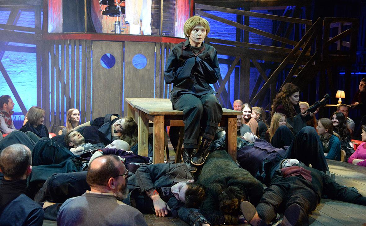 Мюзикл «Суини Тодд: демон-цирюльник с Флит-стрит» в Театре на Таганке