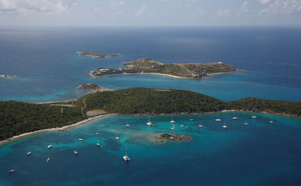 Вид на острова Святого Джеймса