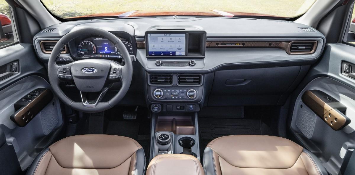 Новый пикап Ford Maverick