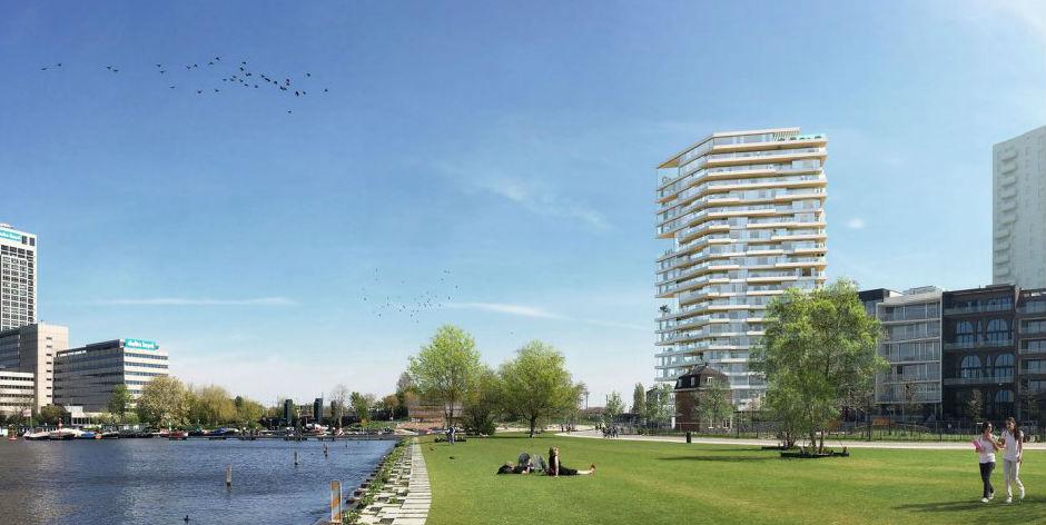 Проектное решение строительства 73-метрового жилого здания издерева вНидерландах
