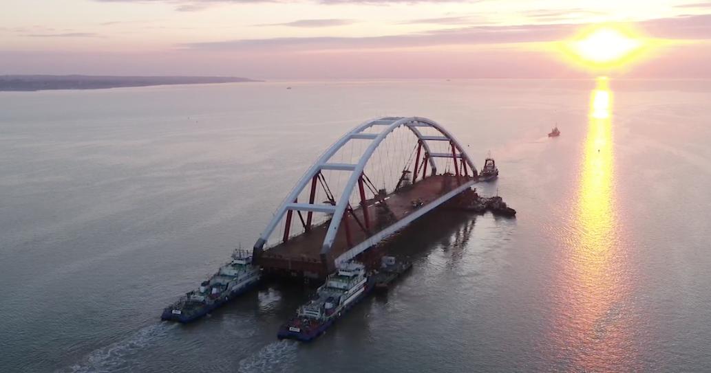 Видео:информационный центр «Крымский мост»