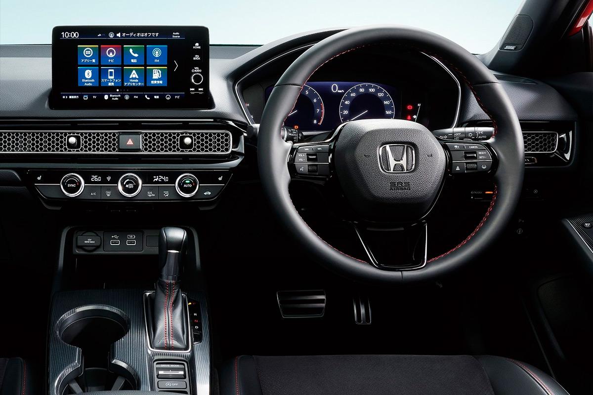 Салон нового Honda Civic