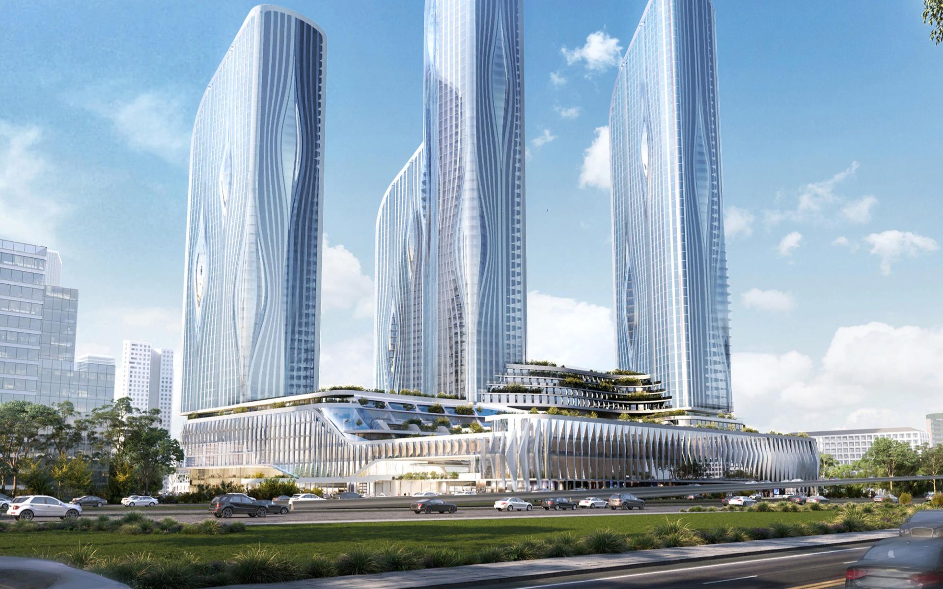 Фото: КРОСТ и Zaha Hadid Architects