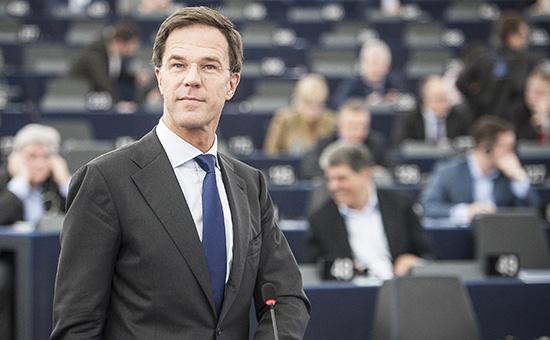 Премьер-министр Нидерландов Марк Рютте