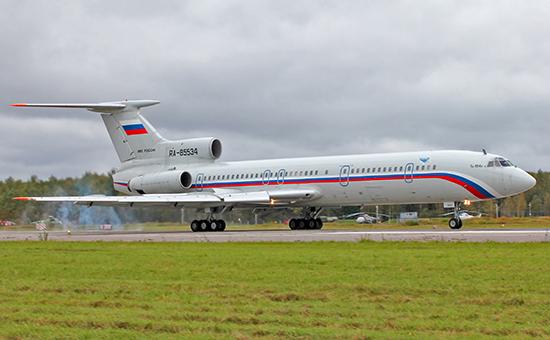Самолет Ту-154Б-2