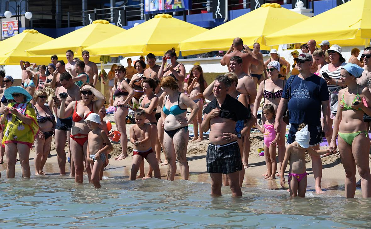 """Ажиотаж на курортах Кубани в начале сезона превысил уровень до пандемии""""/>"""