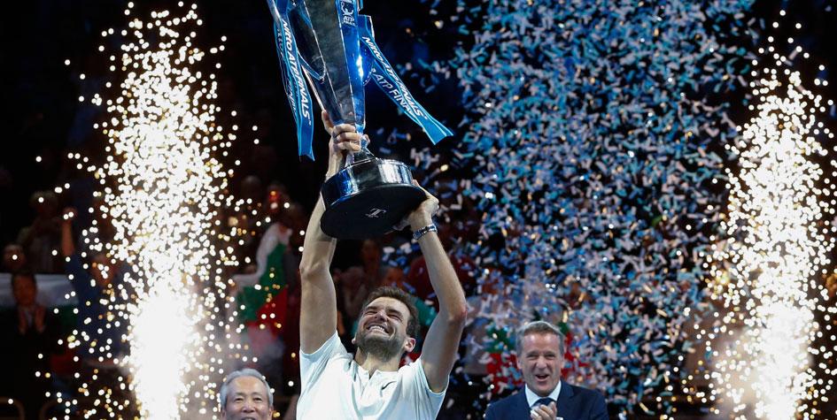 Григор Димитров выиграл итоговый чемпионат ATP