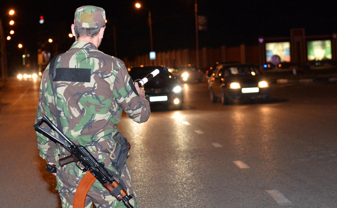 Рейд по обеспечению безопасности в Чечне. Архив