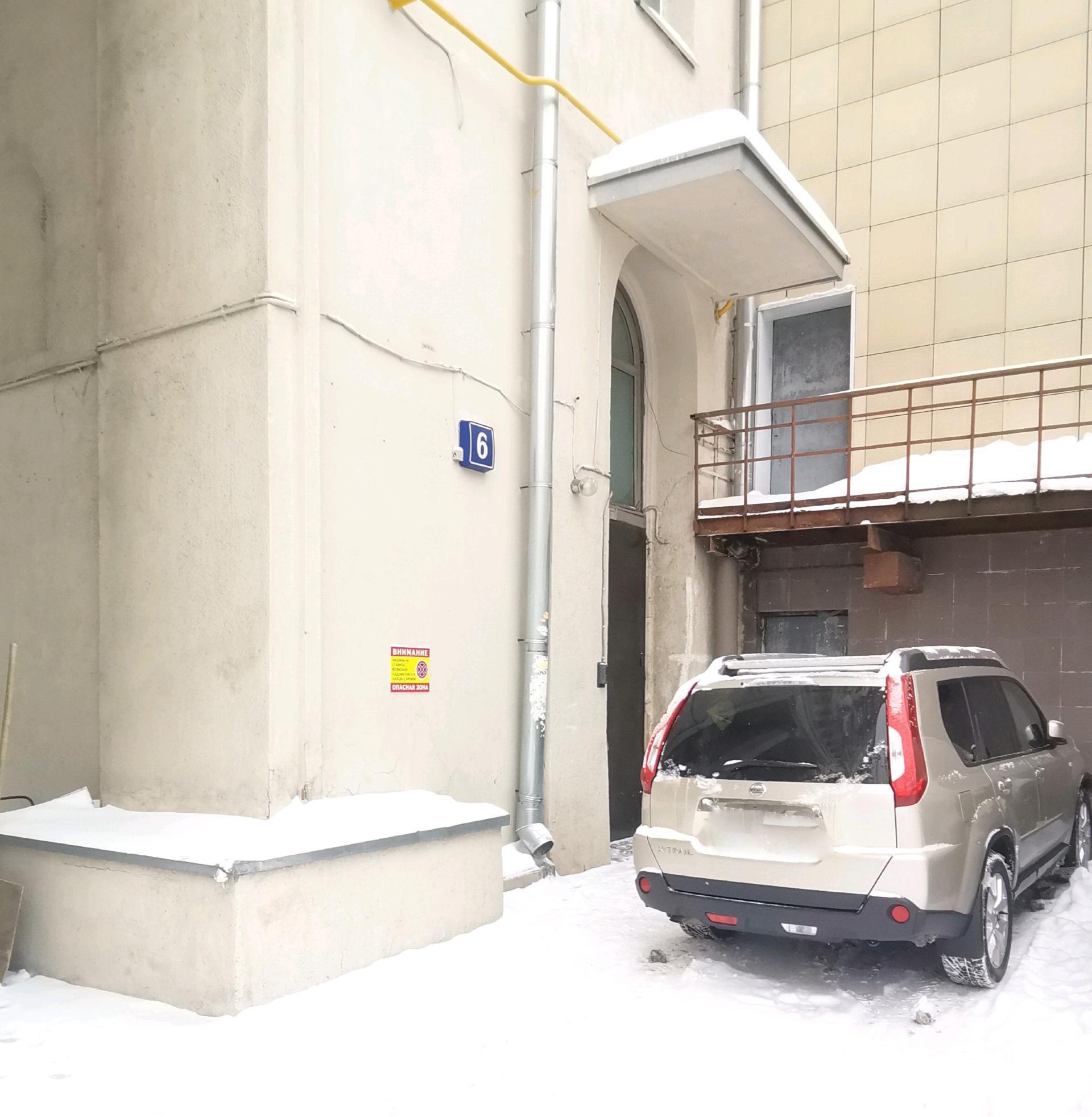 Дом № 6 поСпартаковской улице в Москве