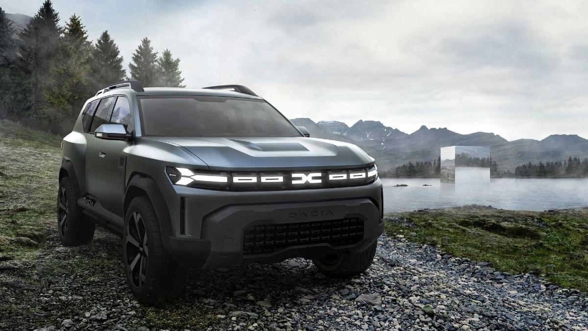 Концепт-кар Dacia Bigster