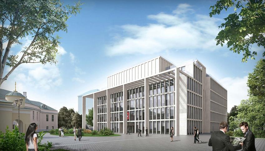 Фото: Новое здание Мосгордумы. Проект архбюро