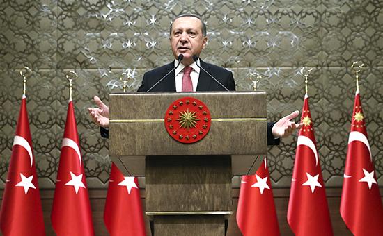 Президент ТурцииРеджеп Тайип Эрдоган