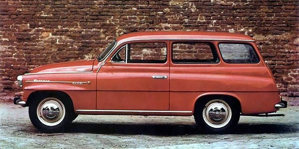 Skoda Octavia 1961