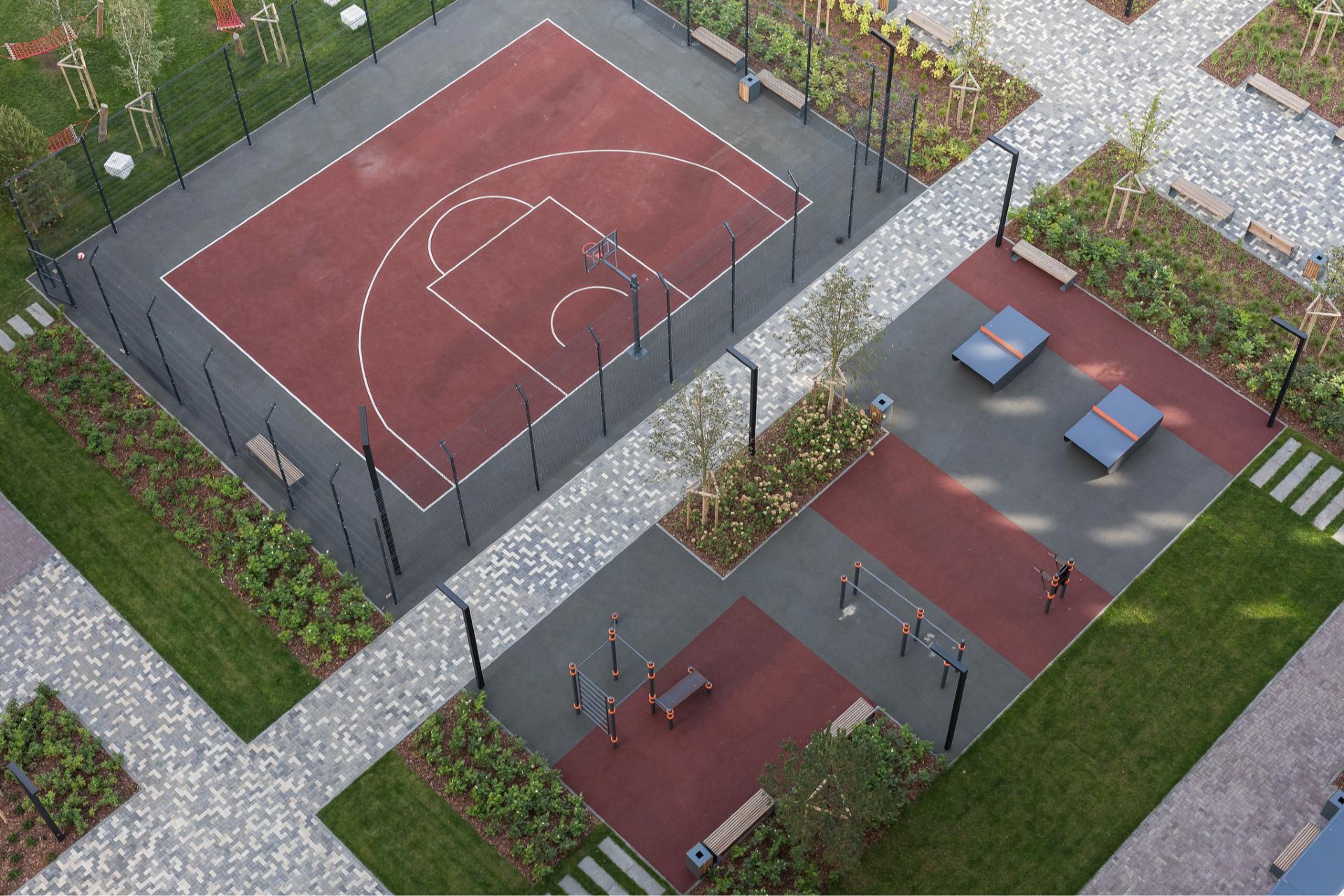 Многие девелоперы проектируют пространства для физической активности между кварталами