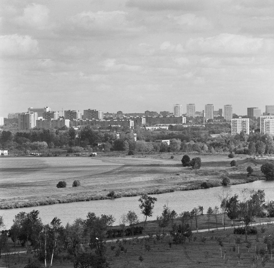 Жилой массив Щукино в Ворошиловском районе. 1984 год