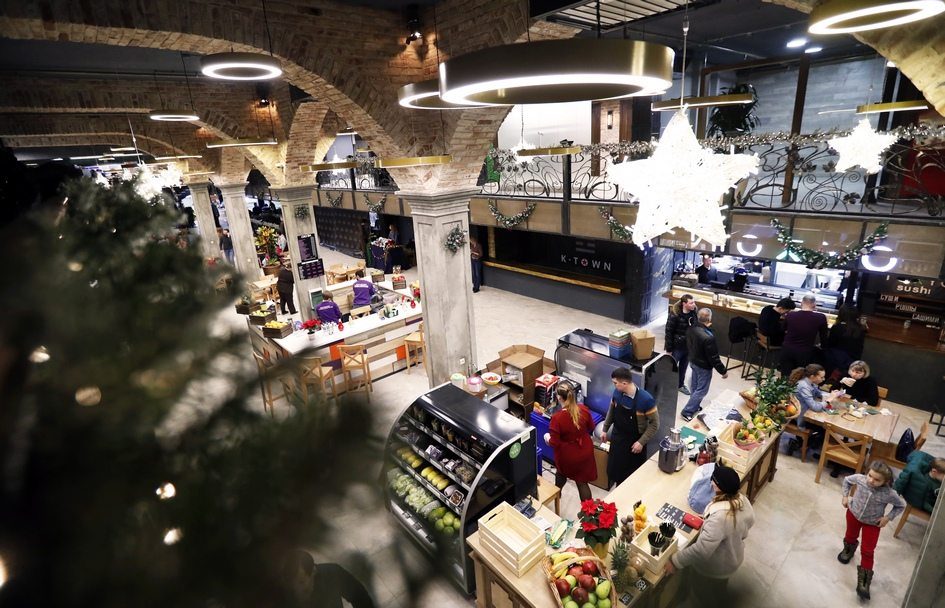 Центральный рынок на Рождественском бульваре