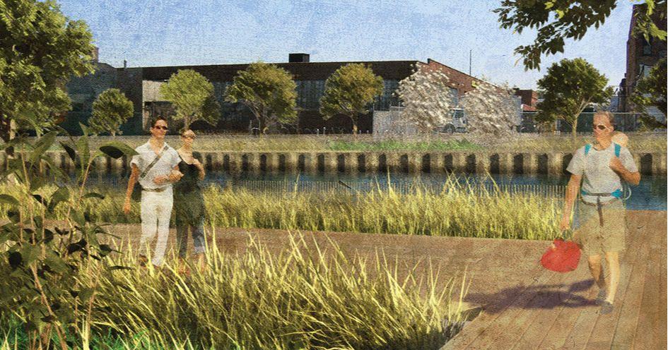Проект реновации канала Гованус