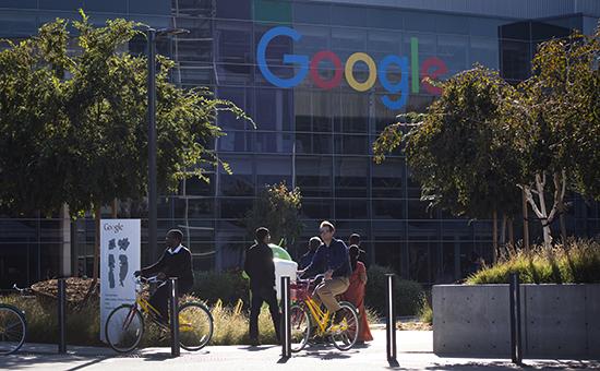 Штаб-квартира Google в Калифорнии