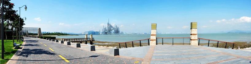 Вид со стороны Гонконга